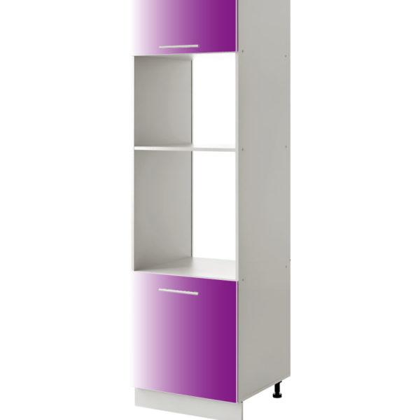 placard micro onde violet 60 cm cuisines sur mesure