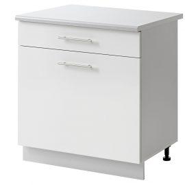 placard 1 porte tiroir 60 cm bas cuisines sur mesure