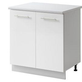 placard 2 portes 80 cm bas cuisines sur mesure