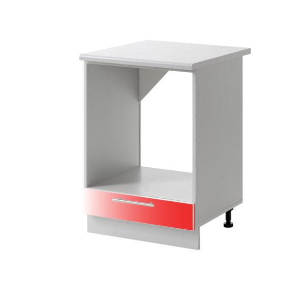 placard four rouge 60 cm cuisines sur mesure