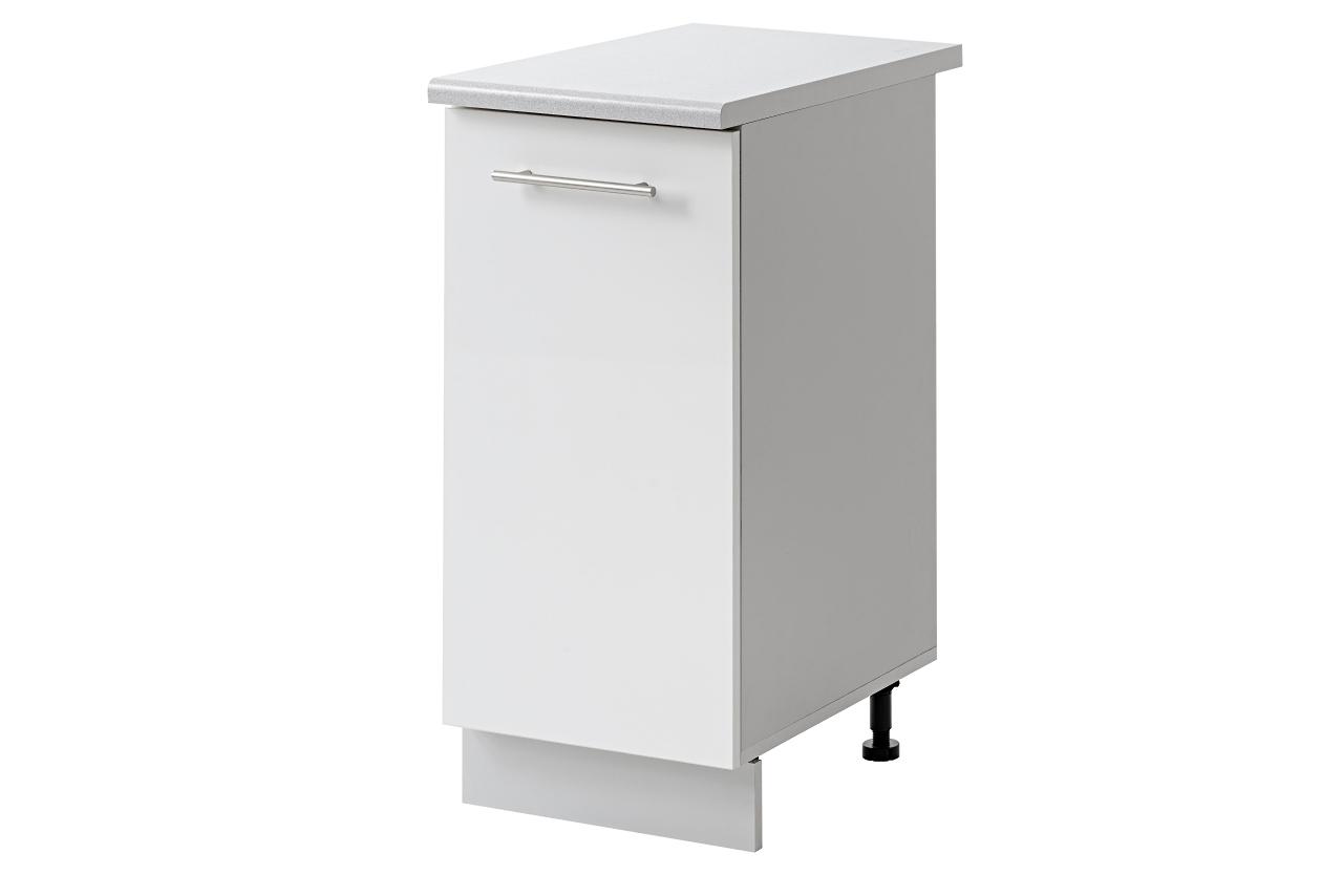 Placard 1 porte 30 cm bas meubles cuisine cuisine house - Placard bas cuisine ...