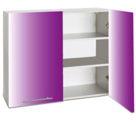 placard double haut ouvert cuisines sur mesure