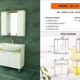 meuble salle de bain BI-07