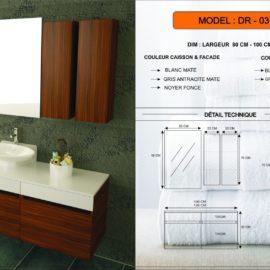meuble salle de bain DR-03