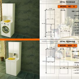 meuble salle de bain MD-10 MDK-11