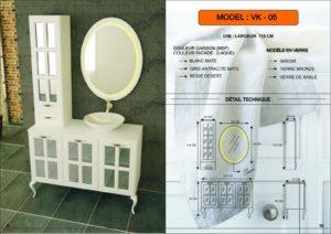 meuble salle de bain VK-05